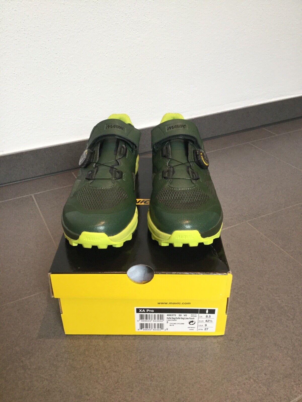 Mavic XA Pro MTB Schuh Größe 42 2/3 oder UK 8.5 neuwertig 1x getragen