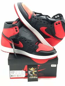 74f424737aa818 PRE-OWNED VNDS LIMITED Air Jordan 1 Retro High OG SATIN BANNED BRED ...