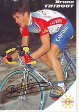 CYCLISME  carte cycliste BRUNO THIBOUT équipe COFIDIS 1993 signée