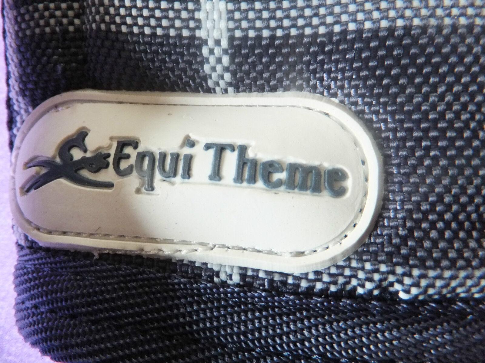 neue Equi-Theme Equi-Theme neue Transportgamaschen marine/grau kariert b07341