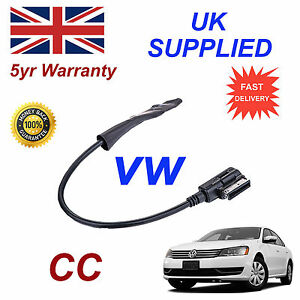 VW-CC-2009-Bluetooth-Audio-Musica-Adaptador-para-Samsung-Motorola-Amazon-etc