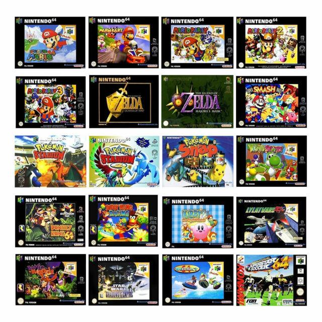Les meilleurs Nintendo 64/n64 jeux (module) (Occasion)