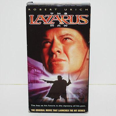 Lazarus Man VHS Robert Urich '96 TNT Series Pilot TV Movie 90min US NTSC  Western | eBay