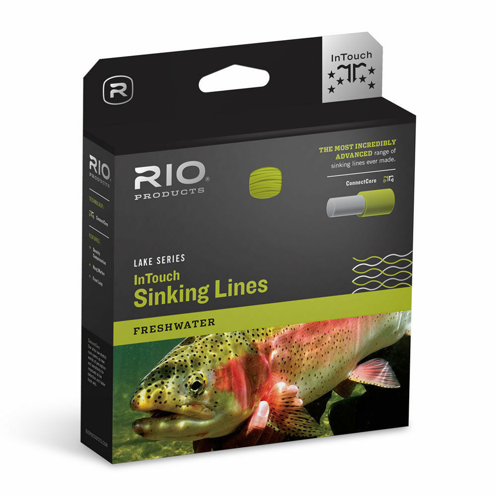RIO IN TOUCH INTOUCH DEEP 3 WF-6-S-3 WT. FORWARD TYPE 3 FULL SINKING FLY LINE