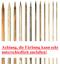 Länge alle Größen Lykke auswechselbare Nadelspitzen Driftwood  9-13cm 7-11,5cm