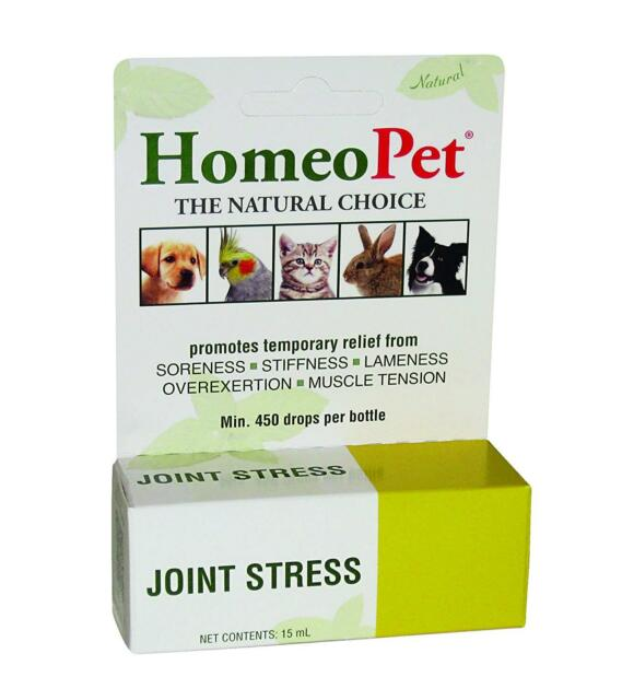 Homeopet Joint Plus 15ml Dog Cat Puppy Joint Movement Mobility Bird Rabbit