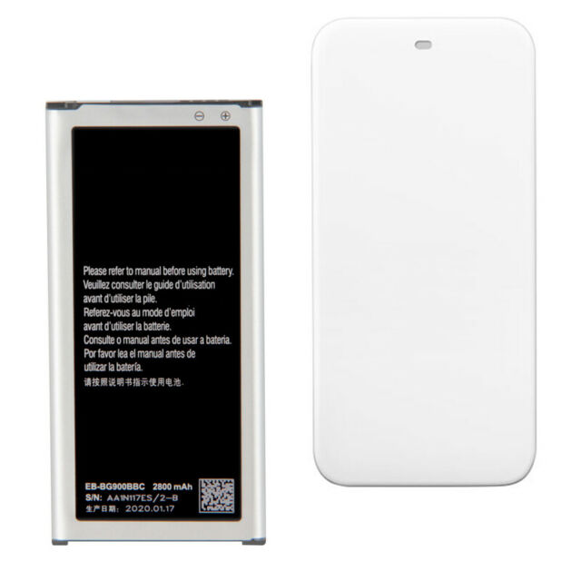 100% New Battery+ Dock Charger FOR Samsung GALAXY S5 G900S G900F EB-BG900BBC