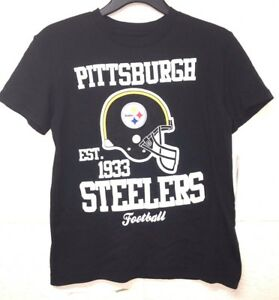 Image is loading NWT-NFL-Youth-Pittsburgh-Steelers-Short-Sleeves-T- 392794019