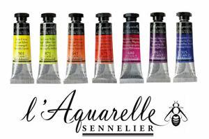 98-Farbtoene-SENNELIER-l-Aquarelle-Extra-Feine-Kuenstler-Aquarellfarbe-10ml-Tuben