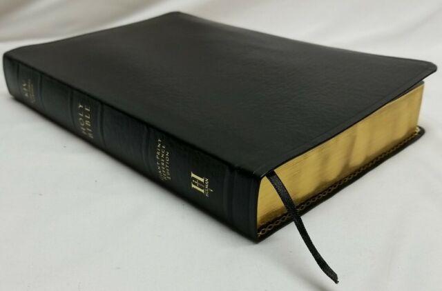 Rare AUTHORIZED KING JAMES VERSION HOLY BIBLE Giant Print KJV Genuine Leather