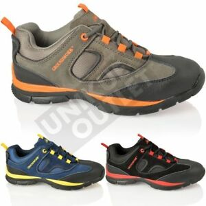 MENS GROUNDWORK GR95 SAFETY STEEL TOE LIGHTWEIGHT LEATHER OUTDOOR TRAINERS SIZES