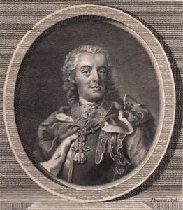 Portrait-XVIIIe-Charles-Alexandre-de-Lorraine-Gouverneur-Pays-Bas-Autrichiens
