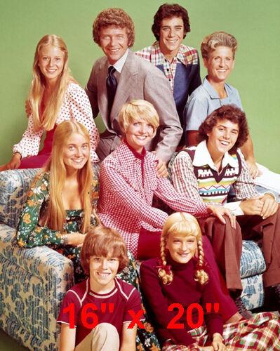 """Brady Bunch~TV Show~ Cast~Photo~16"""" x 20"""""""