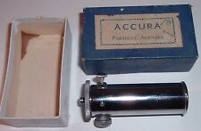 Accura Parallax Adjuster For Use With TLR Film Cameras IN ORIGINAL BOX nice