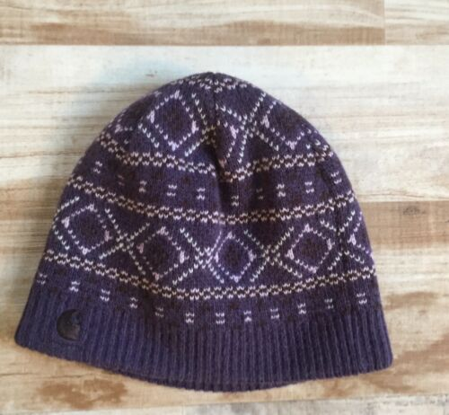 Carhartt Wool Winter Hat Beanie Fair Isle Knit Adu
