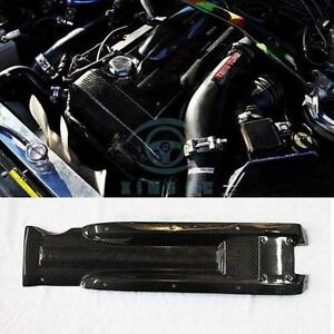 Carbon Fiber Spark Plug Engine Cover Fit For Nissan Skyline Gtr Rb26