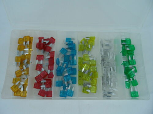 120 pc Assorted Car Fuse Auto Replacement fuses blade ATC ATO ATM