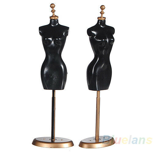 """9.8"""" For Barbie Doll Display Holder Dress Clothes Gown Mannequin Model Stand B84"""