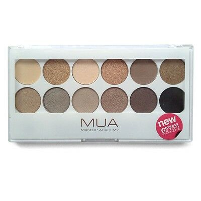 MUA Make Up Academy Eyeshadow Palette New/Sealed