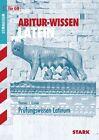 Abitur-Wissen Latein Prüfungswissen Latinum für G8 von Thomas J. Golnik (2012, Taschenbuch)