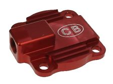CB Red Billet Oil Pump Cover Plate Cooling Full Flow VW T1 T2 T3 Bus Beetle Ghia