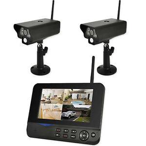 funk berwachungskamera video set skymaster au en 2 kamera. Black Bedroom Furniture Sets. Home Design Ideas