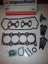 FIAT PUNTO MK2 1.2 1242cc 8v 1999-2005 HEAD GASKET SET HEAD BOLTS & THERMOSTAT