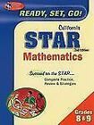 California STAR Test Preparation: California STAR Grades 8 and 9 Math by Stephen Hearne and Penny Luczak (2010, Paperback, Revised)