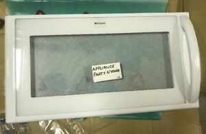 Image Is Loading New Frigidaire Electrolux Microwave Door White Gallery 5304408521