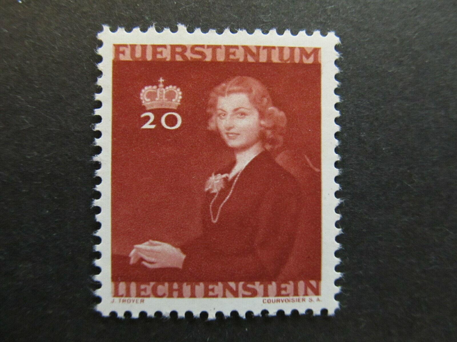 A4P26F87 Liechtenstein 1943 20rp mh*
