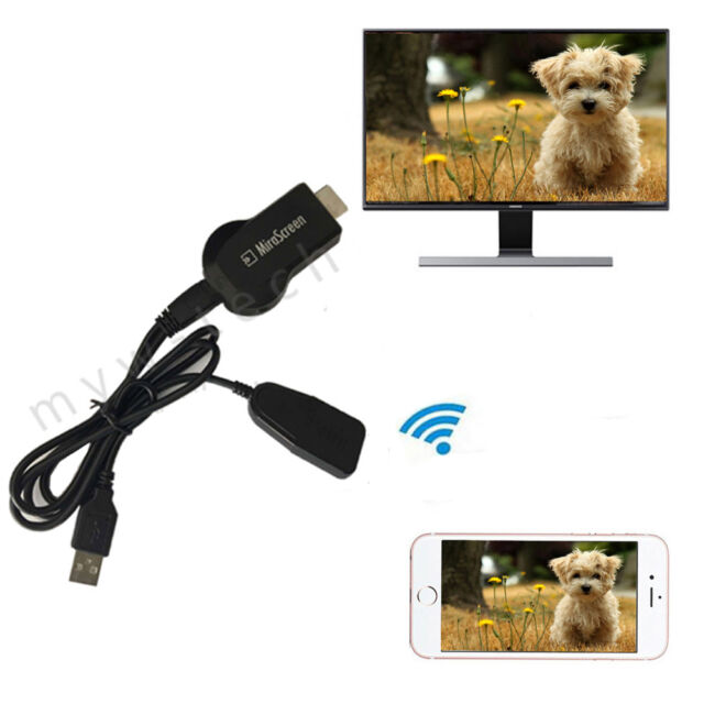 1080P HDMI AV Adapter Cable Video Cord for Samsung Galaxy Tab tablet to HD TV