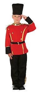 BRITISH-GUARD-BOY-FANCY-DRESS-COSTUME-TOY-SOLDIER-NATIONAL-ENGLISH-CHILD