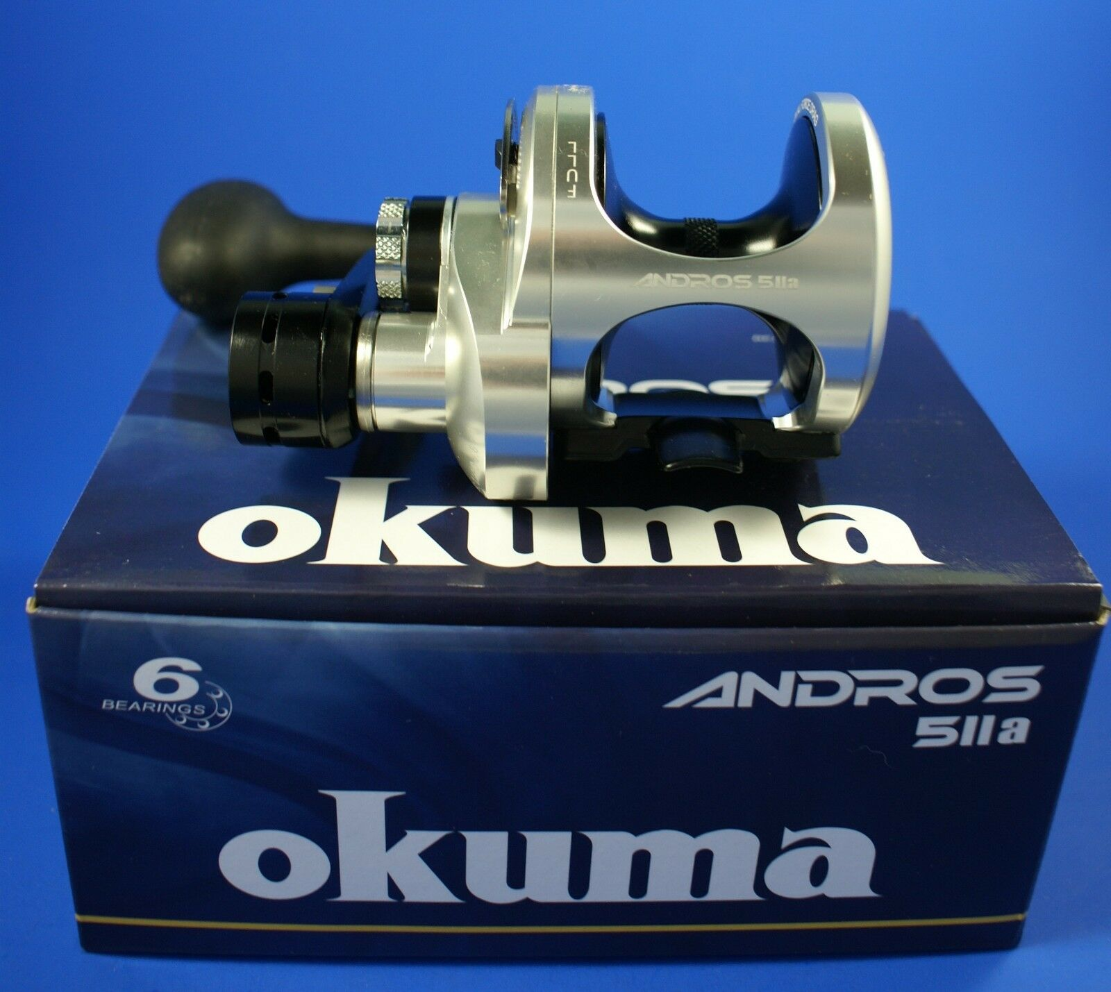 Okuma Andros A-5IIa 2 Speed Lever Drag Fishing Reel