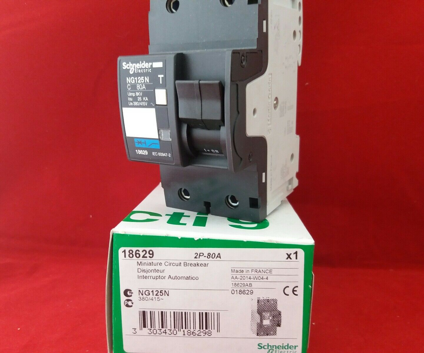 Schneider 18629 Ng125n 80a 80amp Double Pole Dp 2p Mcb Fuse Switch Off Miniature Circuit Breaker Module View Norton Secured Powered By Verisign
