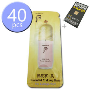The-history-of-Whoo-Gongjinhyang-Mi-Essential-Makeup-Base-1ml-x-10-40pcs-2gift
