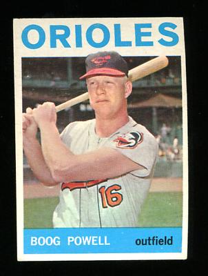 1964 Topps 89 Boog Powell Baseball Card Ex Ebay