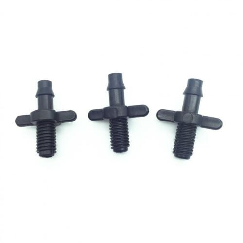 """1//4 /"""" mit Widerhaken Verbindung Doppel Wege 4mm Schraubgewinde Micro Bewässerung"""