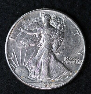 Average Grade of Coin You Receive is Photographed 1935-s Walking Liberty Half