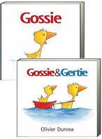 Gossie And Gossie & Gertie (bb) Olivier Dunrea 2 Board Book Set