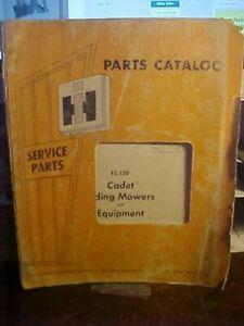 Issued-5-73-IH-TC-120-Cadet-Riding-Mowers-amp-Equipment-Parts-Catalog-1M