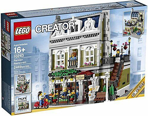 Neue versiegelt lego creator - experte 10243 pariser restaurant