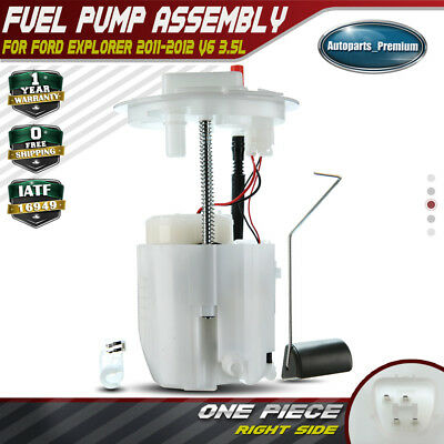 Electric Fuel Pump Module Assembly for 11-12 Ford Explorer V6 3.5L Right E2577M