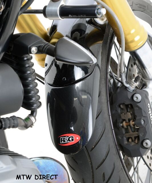R&G RACING CARBON FIBRE FENDER EXTENDER Kawasaki Kawasaki ER-5 / GPZ500S models.