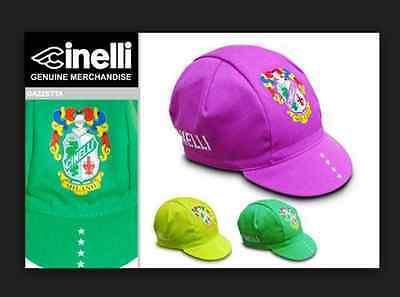 Italian made Retro fixie Brand new Cinelli TIG Purple Cycling cap
