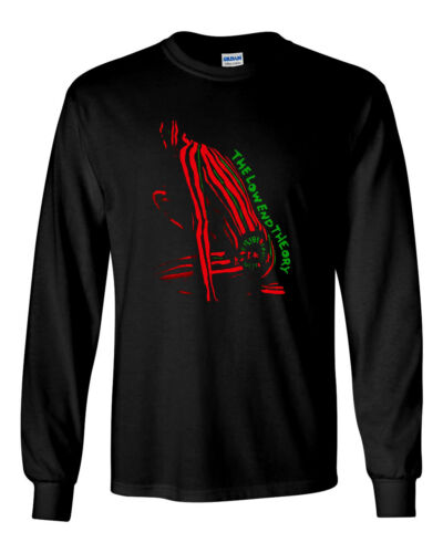The Low End Theory Tribe Called Quest Custom Long Sleeve T-Shirt Brand New-Black