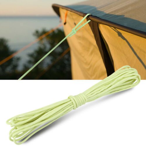 Glow in the Dark 550 Luminous 9 Strand Paracord Parachute Rope Cord Outdoor