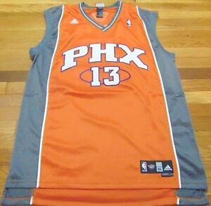 hot sale online b9fe9 9c671 Details about ADIDAS NBA PHOENIX SUNS STEVE NASH ROAD ORANGE SWINGMAN  JERSEY SIZE 2XL