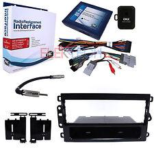 Radio Replacement Interface w/Onstar/Bose Retain & Dash Mount Kit for Chevrolet