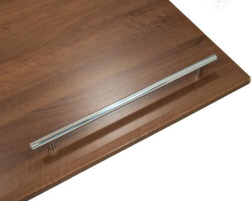 T BAR KITCHEN CABINET DOOR HANDLE CUPBOARD DRAWER FURNITURE CHROME T BAR HANDLE