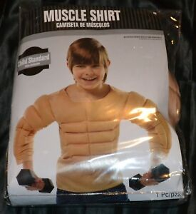 Image Is Loading Muscle Shirt Workout Gym Full Halloween Costume Fits
